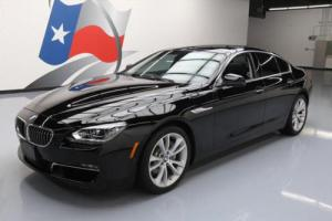 2014 BMW 6-Series 640I GRAN COUPE SUNROOF NAV REARVIEW CAM