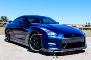 2014 Nissan GT-R Track Edition AWD 2dr Coupe Coupe 9K Mls Deep Blue Photo