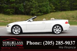 2006 BMW 6-Series 650Ci 2dr Convertible