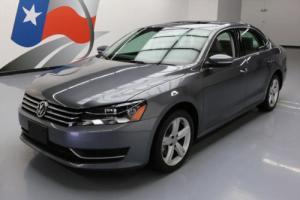 2013 Volkswagen Passat SE HEATED SEATS SUNROOF