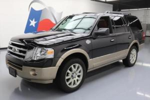 2012 Ford Expedition KING RANCH SUNROOF NAV 20'S