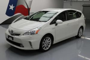 2012 Toyota Prius V FIVE HYBRID HTD SEATS NAV 17'S