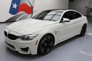 2015 BMW M4 COUPE TURBO CARBON ROOF NAV HTD LEATHER
