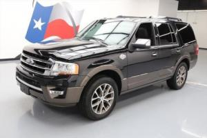 2015 Ford Expedition KING RANCH ECOBOOST SUNROOF NAV