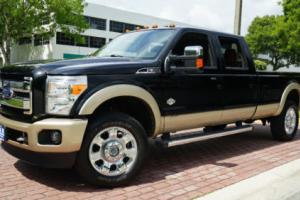 2012 Ford F-350 KING RANCH 1-OWNER LOW MILES SUPER LOADED MUST SEE