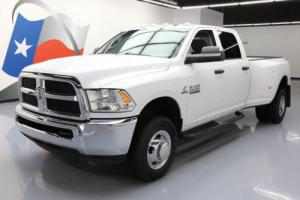 2015 Dodge Ram 3500 TRADESMAN 4X4 DIESEL DUALLY