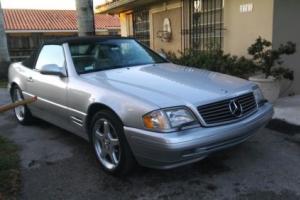 1999 Mercedes-Benz SL-Class Convertible