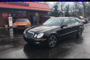 2008 Mercedes-Benz E-Class E550 4dr Sedan Sport 5.5L RWD