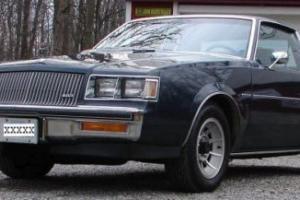 1987 Buick Regal T Package Photo