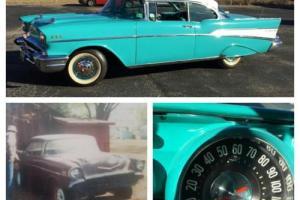 1957 Chevrolet Bel Air/150/210 Bel Air 2 Door Hardtop Sport Coupe