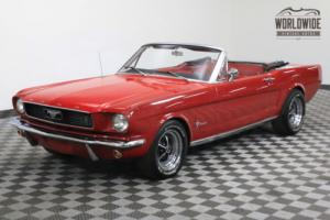 1966 Ford Mustang CONVERTIBLE 302 V8 AUTO FRONT DISC BRAKES Photo