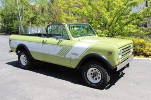 1978 International Harvester Scout Terra Photo