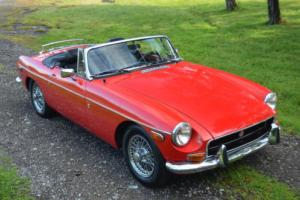 1972 MG MGB CHROME BUMPER MGB ROADSTER