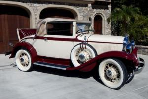 1932 Plymouth PA Convertible Coupe Restored 2-Door Convertible Photo