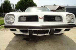 1975 Pontiac Trans Am firebird