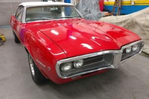 1967 Pontiac Firebird Convertible Photo