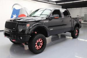 2013 Ford F-150 FX4 CREW 4X4 LIFT ECOBOOST LEATHER