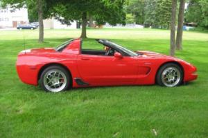 2001 Chevrolet Corvette Targa Top