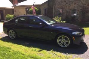 2013 BMW 5-Series 550i X-Drive