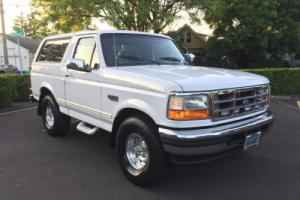 1996 Ford Bronco LOOK BELOW AD OVER 45 DETAILED PICS