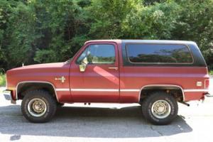 1986 Chevrolet Blazer K5