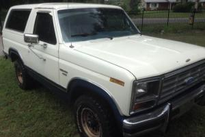 1986 Ford Bronco 1