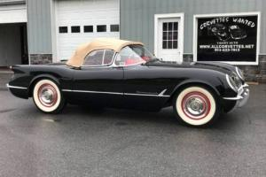 1954 Chevrolet Corvette FrameOffRestored*3NCRSTopFlights*BloomingtonGold*