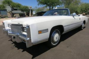 1976 Cadillac Eldorado Convertible Photo