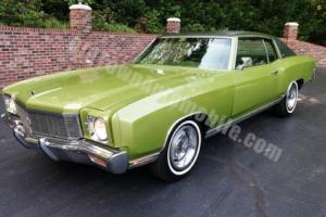 1971 Chevrolet Monte Carlo --