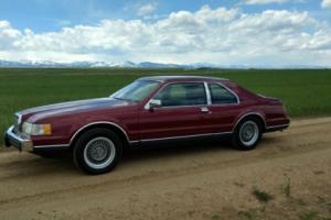 1988 Lincoln Mark Series LSC Photo