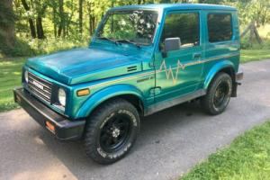 1987 Suzuki Samurai Tintop Photo