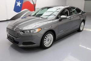 2014 Ford Fusion S HYBRID SEDAN CRUISE CTRL ALLOYS