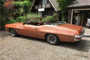 1971 Pontiac LEMANS SS CONVERTIBLE -- for Sale