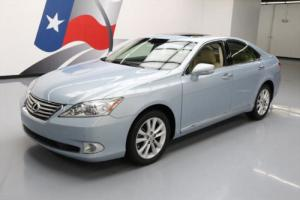 2012 Lexus ES CLIMATE LEATHER SUNROOF PWR SHADE