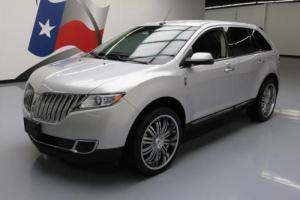 """2015 Lincoln MKX 3.7L V6 CLIMATE LEATHER 22"""" WHEELS"""