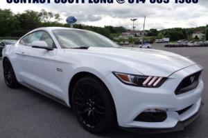 2017 Ford Mustang New 2017 GT 5.0L Stick Navigation White Photo