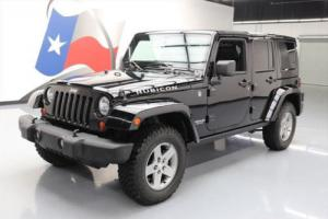 2012 Jeep Wrangler UNLTD RUBICON HARD TOP 4X4 NAV