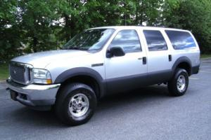 2003 Ford Excursion XLT 9 Passenger 4X4 Drives Great Clean No Reserve!