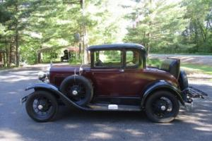 1930 Ford Model A Duel side mounts Photo