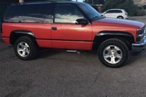 1997 Chevrolet Tahoe 2-door tailgate