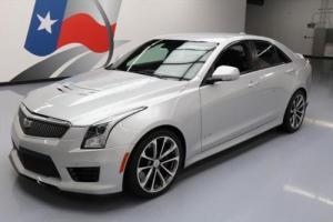 2016 Cadillac ATS -V SEDAN TURBO RECARO SEATS NAV HUD