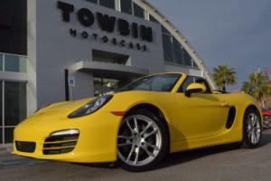 2014 Porsche Boxster 2dr Roadster