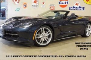 2015 Chevrolet Corvette 1LT AUTO,BACK-UP CAM,LTH,8K,WE FINANCE