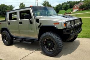 "2005 Hummer H2 SUT Lift 20"" Rims 37 Mud Tires Leather Tow"