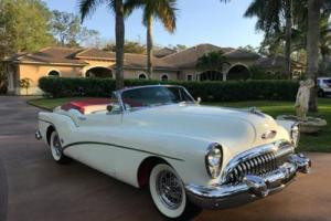 1953 Buick Skylark Roadmaster --