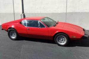 1973 De Tomaso Other Photo