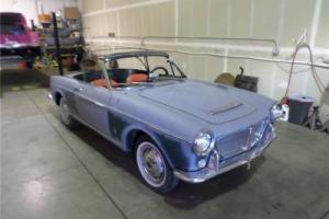 1960 FIAT PININFAINA 1200 Convertible Convertible 1200