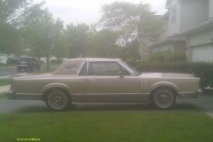 1982 Lincoln Mark VI Signature Photo