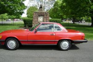 1988 Mercedes-Benz SL-Class 107 Photo
