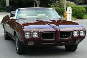 1970 Pontiac GTO CONVERTIBLE - A/C - 100 MILES